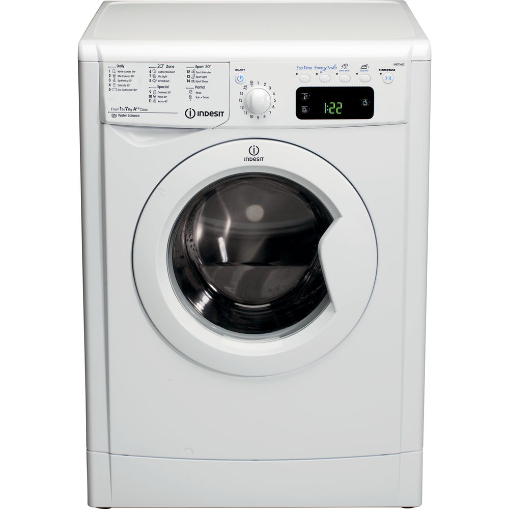 Indesit Ecotime IWE 71682W ECO Washing Machine in White ...