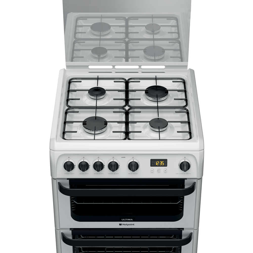 Hotpoint Signature JLG60P Cooker - White