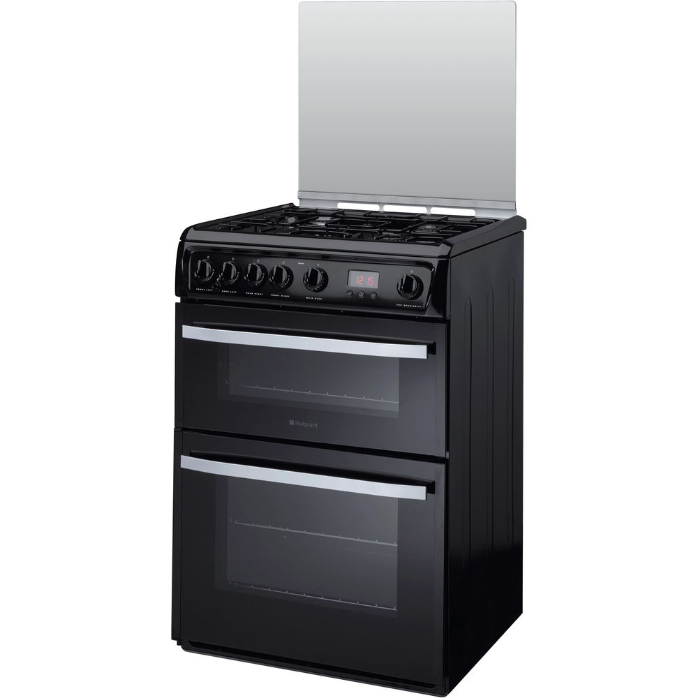 Hotpoint Smart DSG60K Cooker - Black