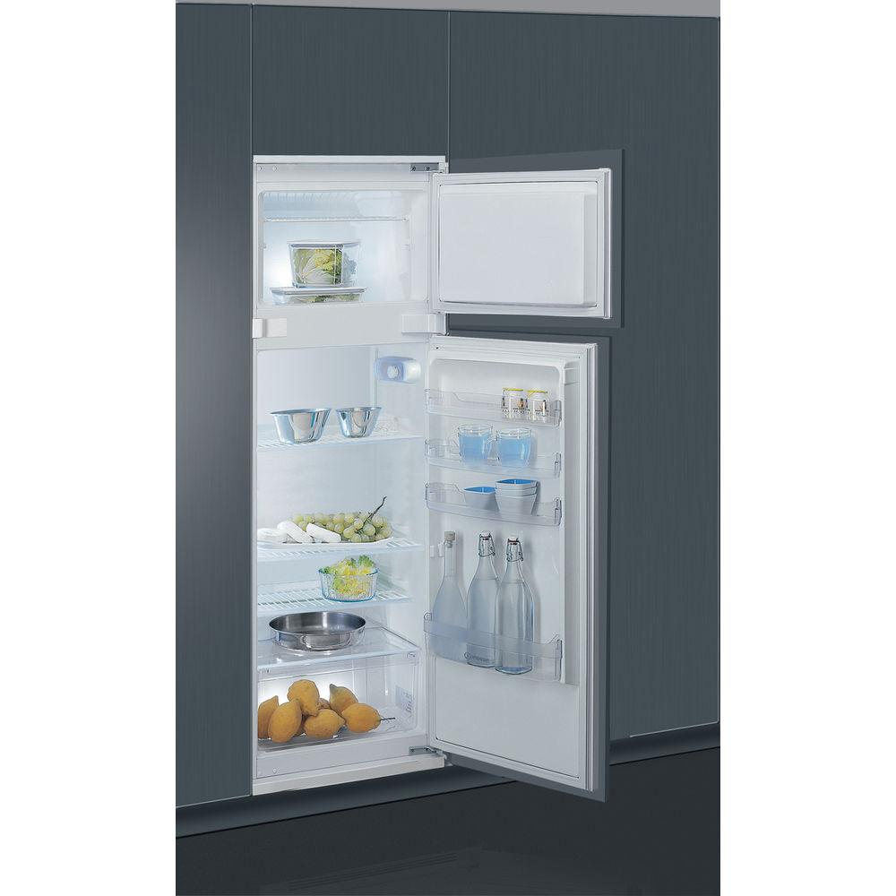 Frigorifero doppia porta da incasso indesit t 16 a1 d i - Porta per lavastoviglie da incasso ...