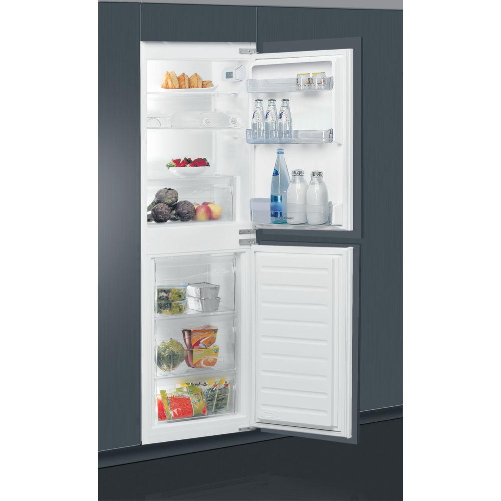 Indesit <b>E IB</b> 15050 A1D. Integrated Fridge Freezer in White ...