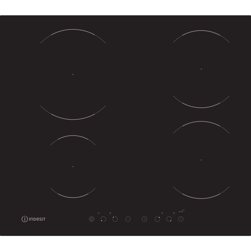 Indesit Aria VIA 640 0 C Induction Hob in Black