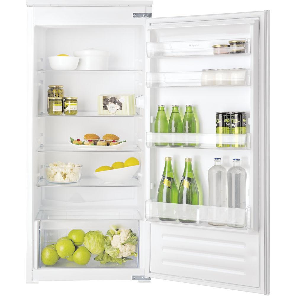Hotpoint integrated fridge: inox color