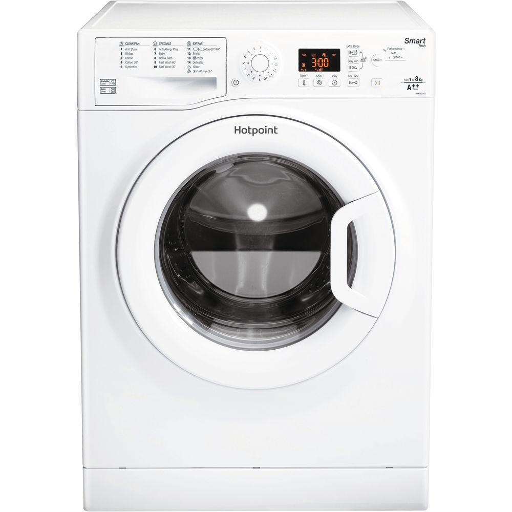 Hotpoint Smart WMFUG 842P .M Washing Machine - White