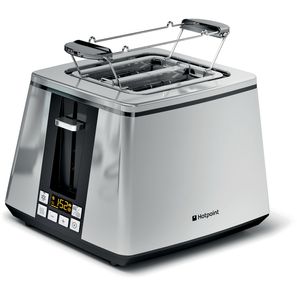 Hotpoint Ultimate Collection TT 22E UP0 Toaster - Chrome