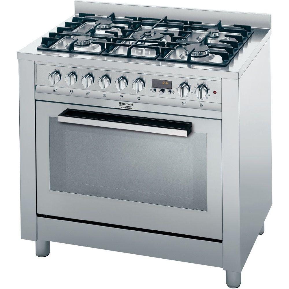 90 cm: Cucina elettrica a libera installazione Hotpoint - CP98SEA ...