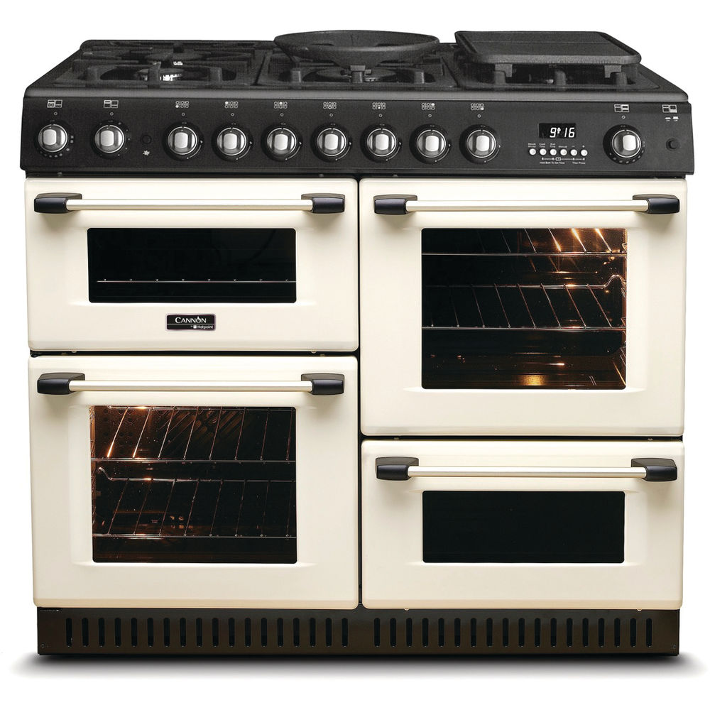 Hotpoint Cannon CH10755GF S Cooker - Cream