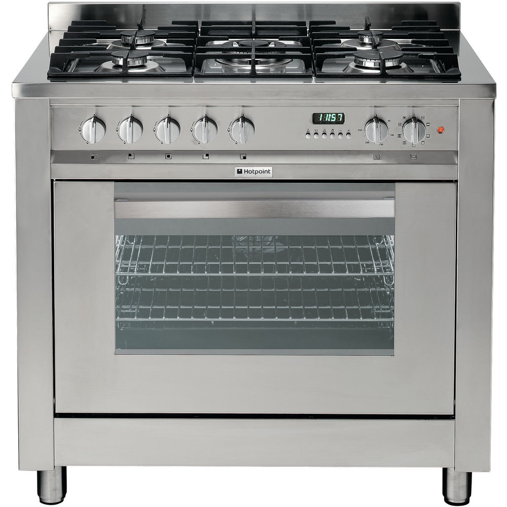 Hotpoint Ultima EG900X S Cooker - Stainless Steel
