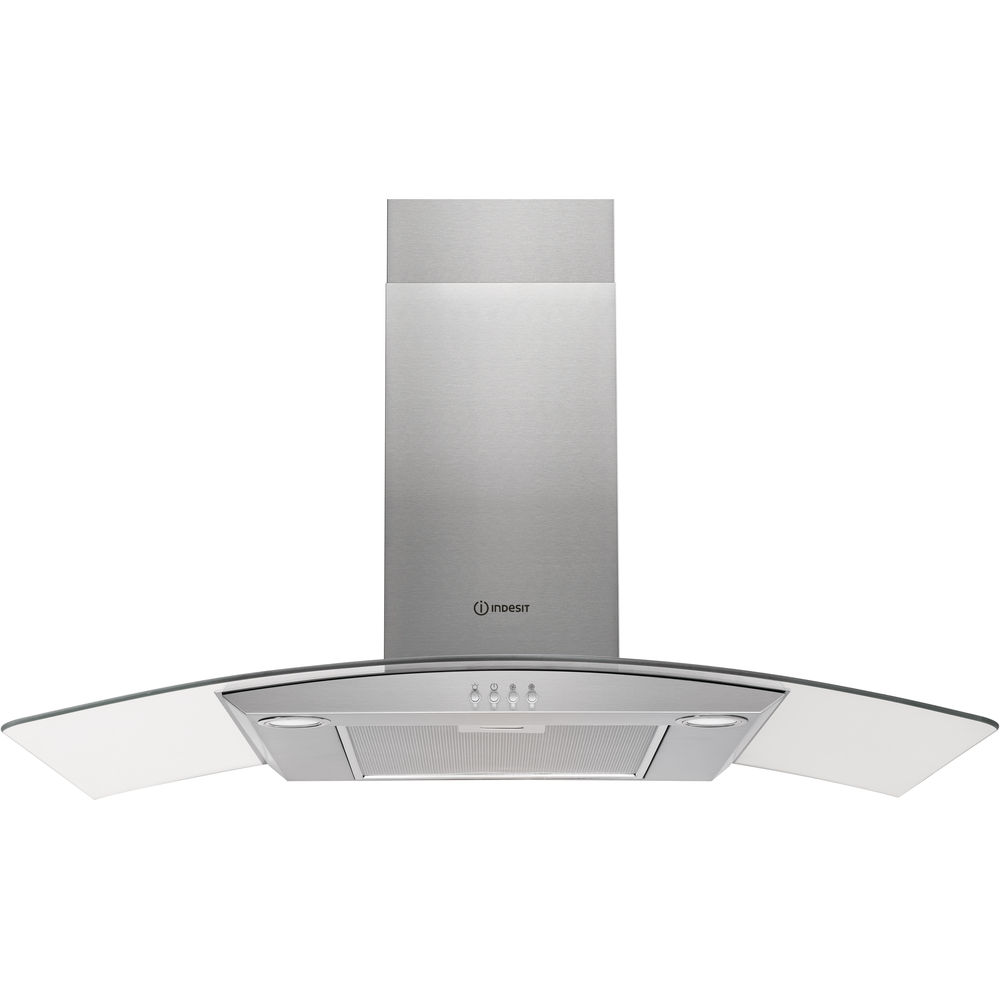 Indesit wall mounted cooker hood: 90cm