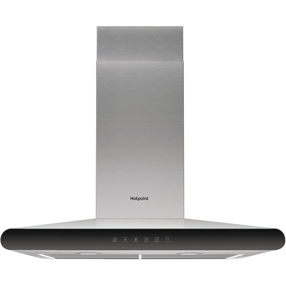 Hotpoint PHC6.7FLTIX Hood - Stainless Steel
