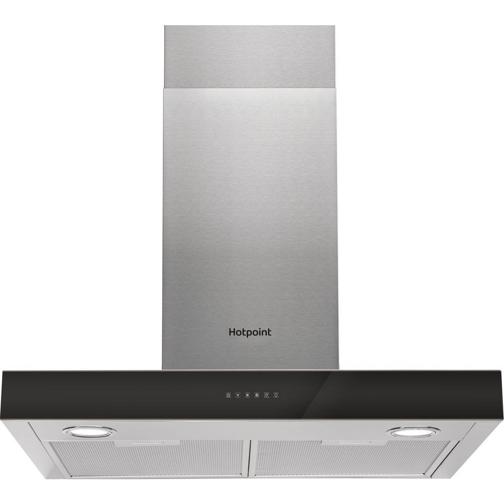 Hotpoint wall mounted cooker hood: 60cm