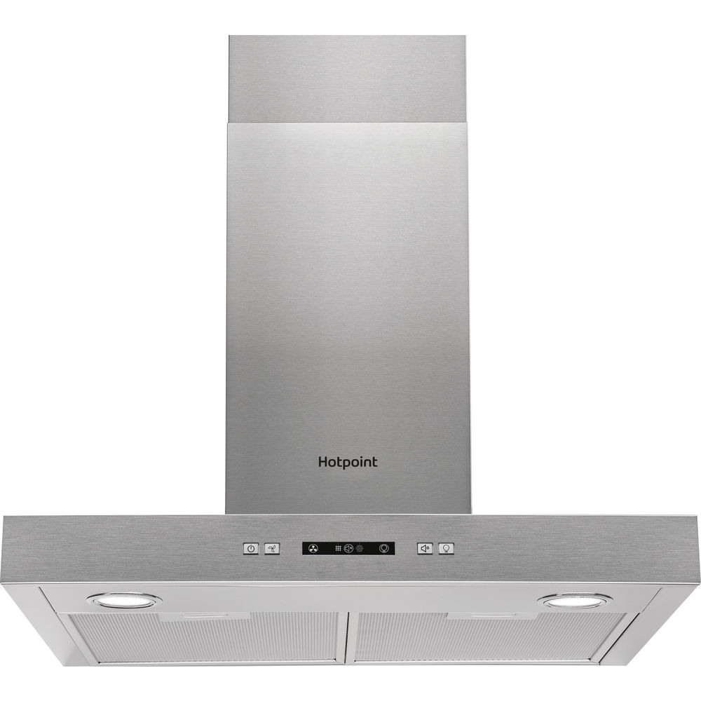 Hotpoint PHBS6.7FLLIX Hood - Stainless Steel
