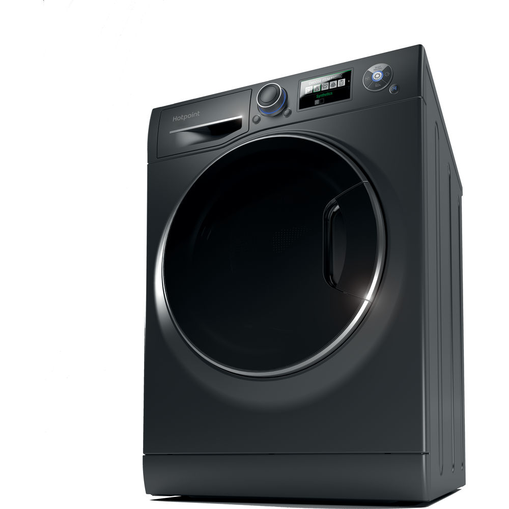 Hotpoint Ultima S-Line RZ 1066 B Washing Machine - Black