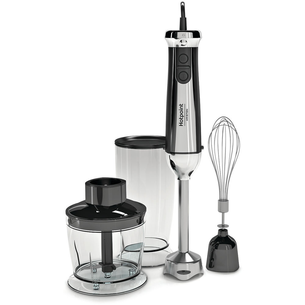 3 IN 1 HAND BLENDER HOTPOINT: COLORE INOX