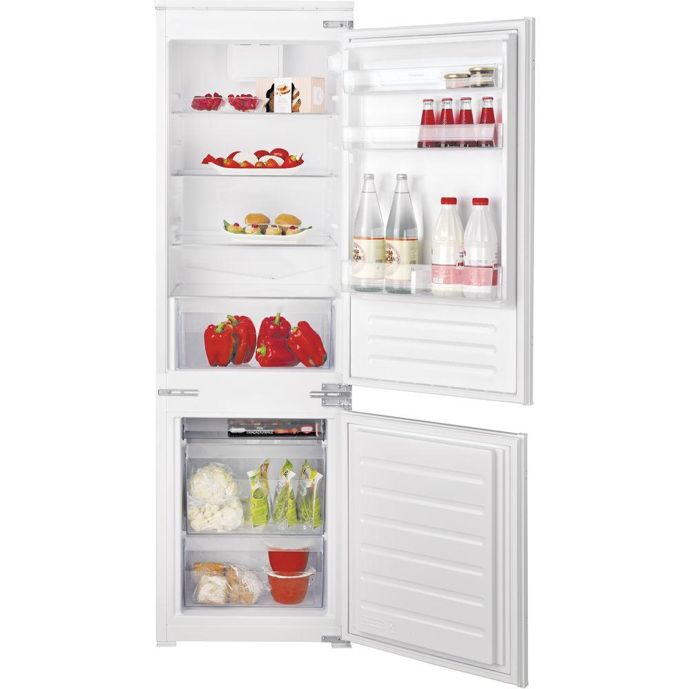 Hotpoint built in fridge freezer