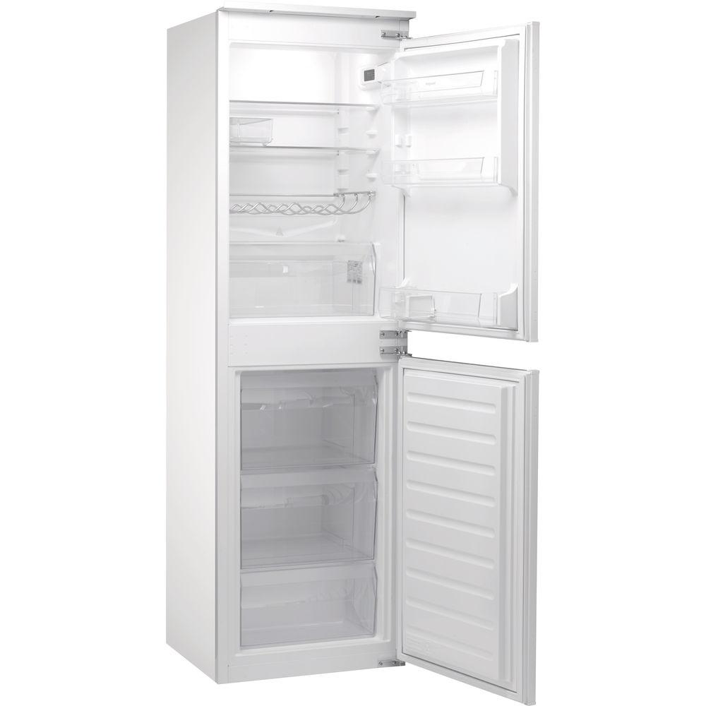 Hotpoint Aquarius HMCB 50501 AA. Integrated Fridge Freezer - White