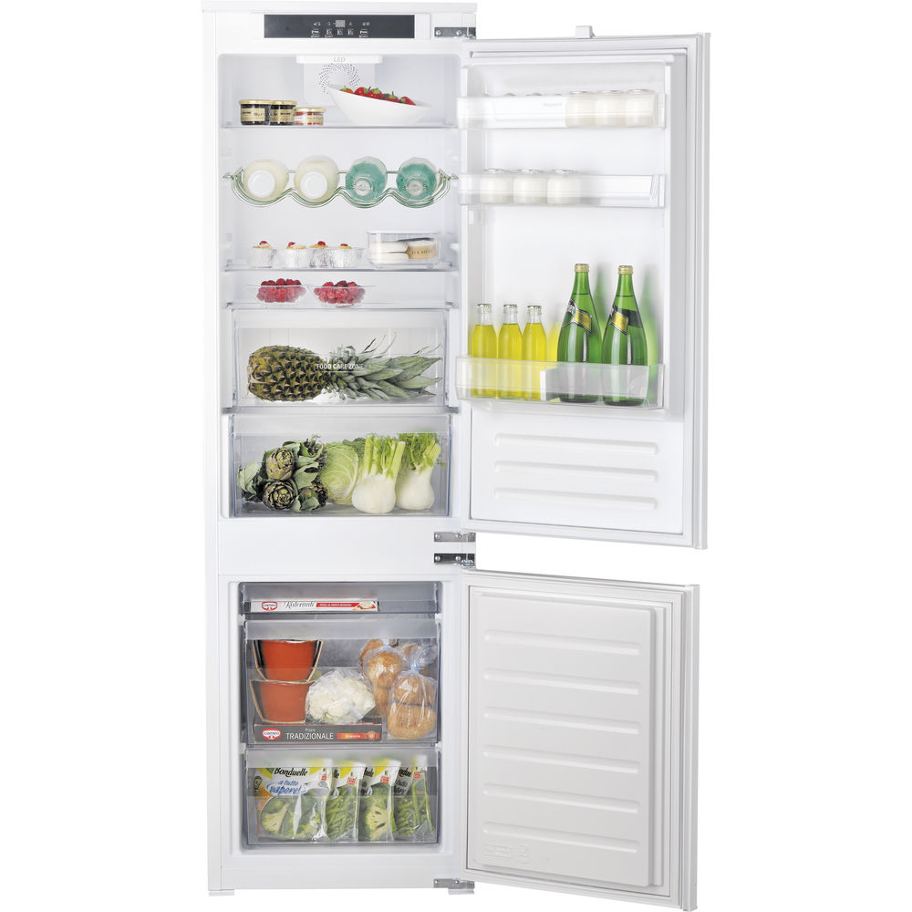 Hotpoint Day 1 HM 7030 E C AA O3 Integrated Fridge Freezer - White