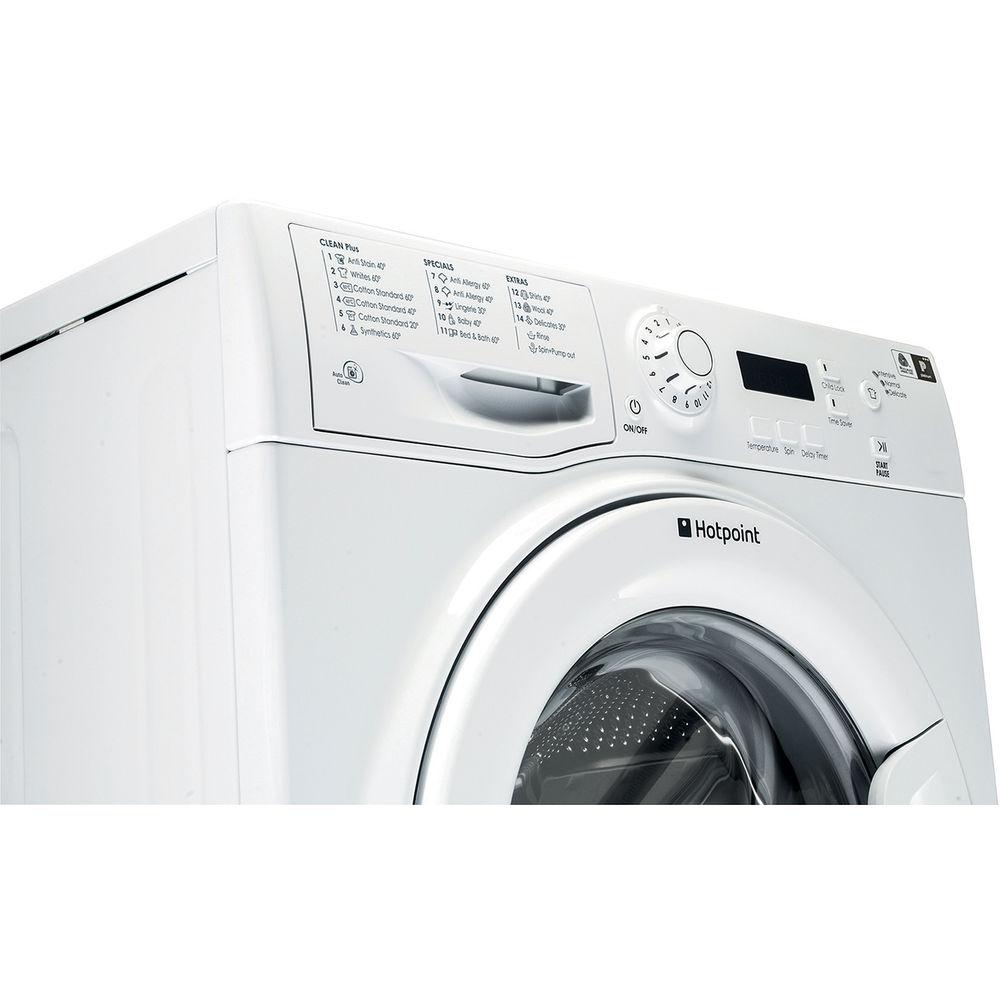 Hotpoint Freestanding Front Loading Washing Machine 6kg Wmaqf Ariston Wiring Diagram Aquarius 621p L White