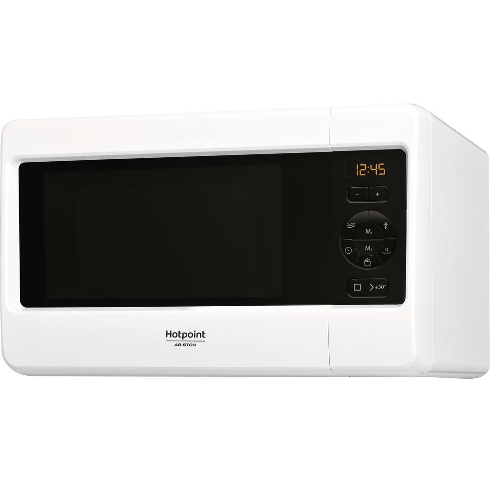 Микроволновая печь Hotpoint: белый цвет