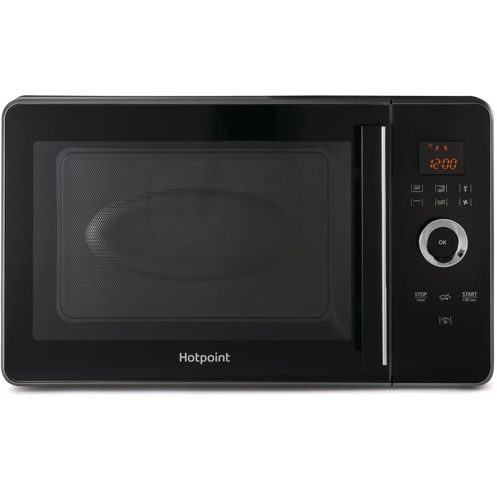 Hotpoint Freestanding Microwave Oven Black Mwh 30243 B