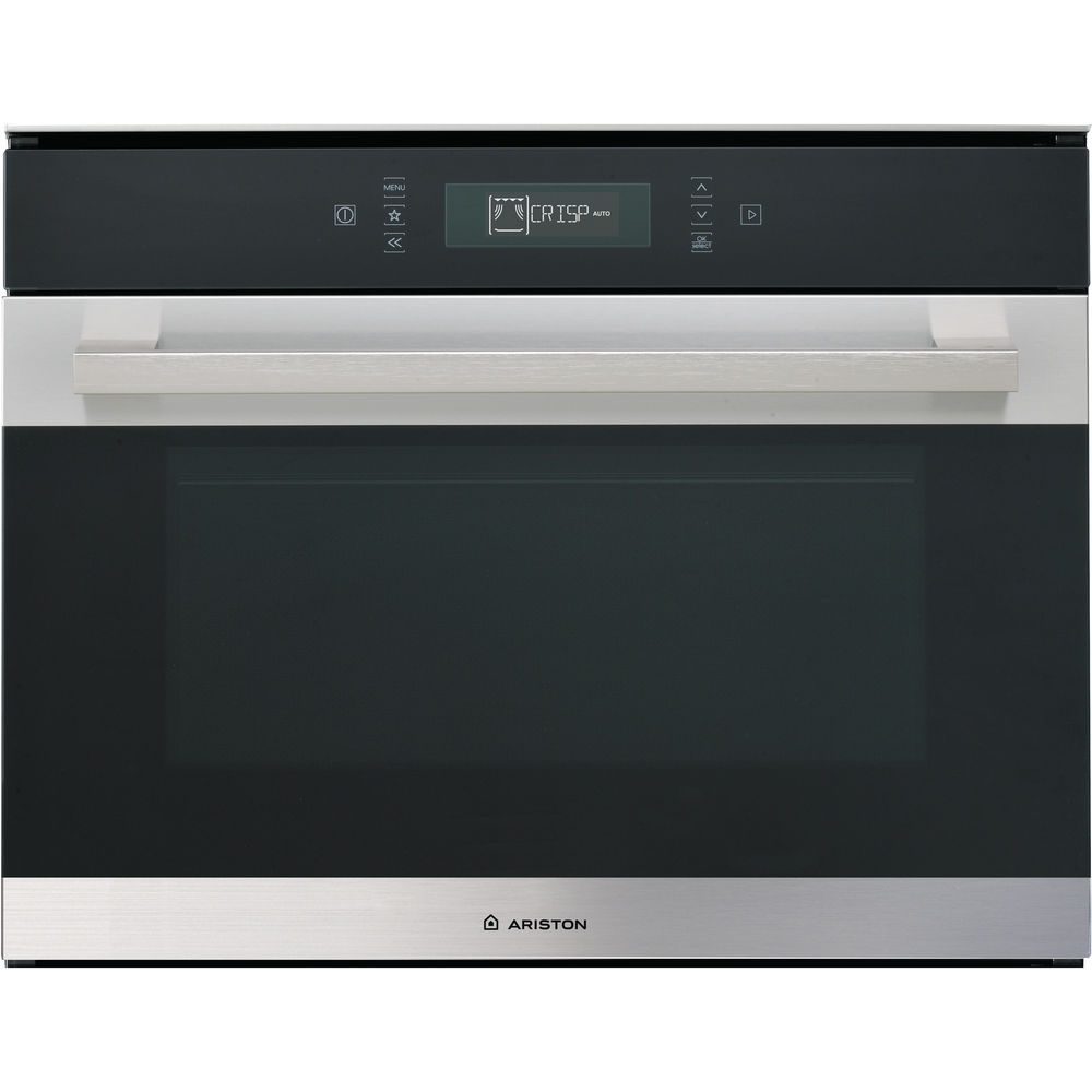Ariston Built In Microwave Oven Inox Color Mp 776 Ix A