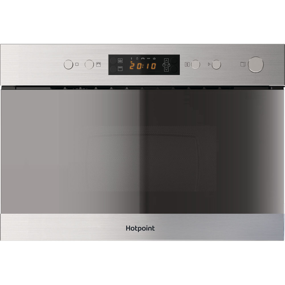 Hotpoint built in microwave oven: inox color