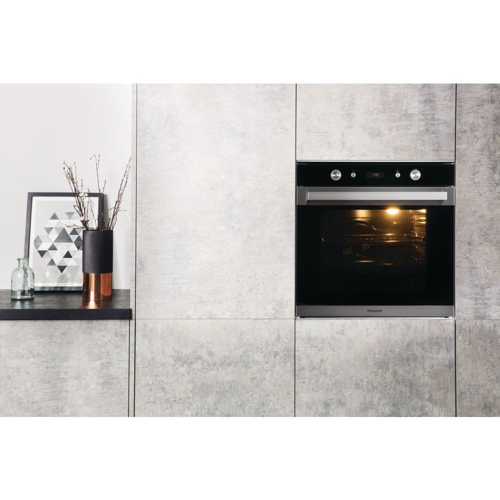 5582ef54b718 Hotpoint Class 7 SI7 864 SC IX Electric Single Built-in Oven - Stainless  Steel