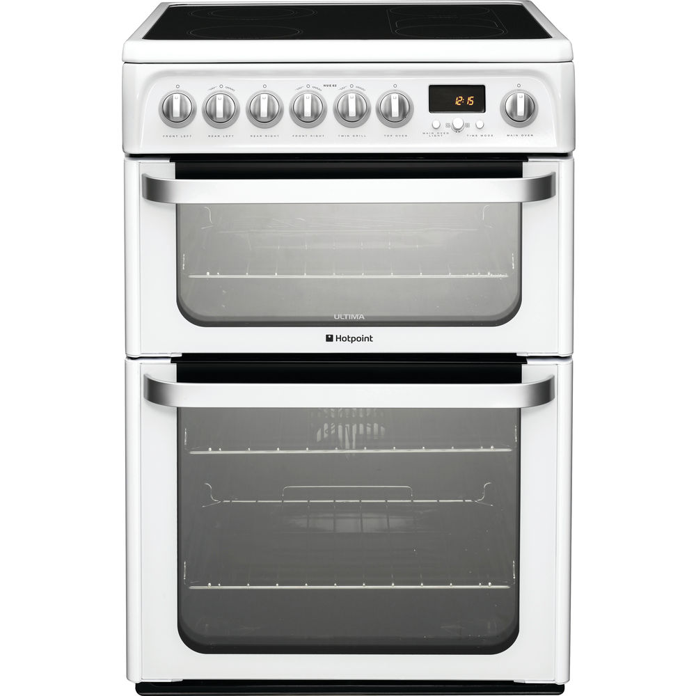Hotpoint Ultima HUE62P S Cooker - White
