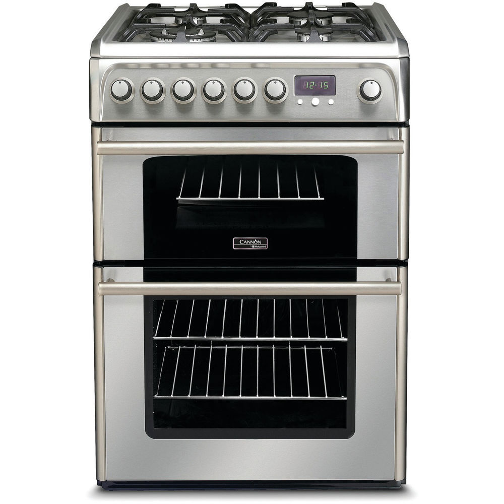 Hotpoint Cannon CH60DPXF S Cooker - Stainless Steel