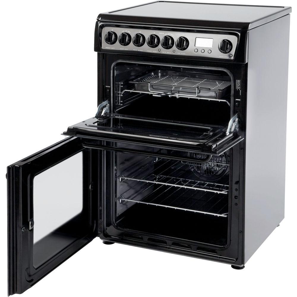 Hotpoint Newstyle HAE60K S Cooker - Black