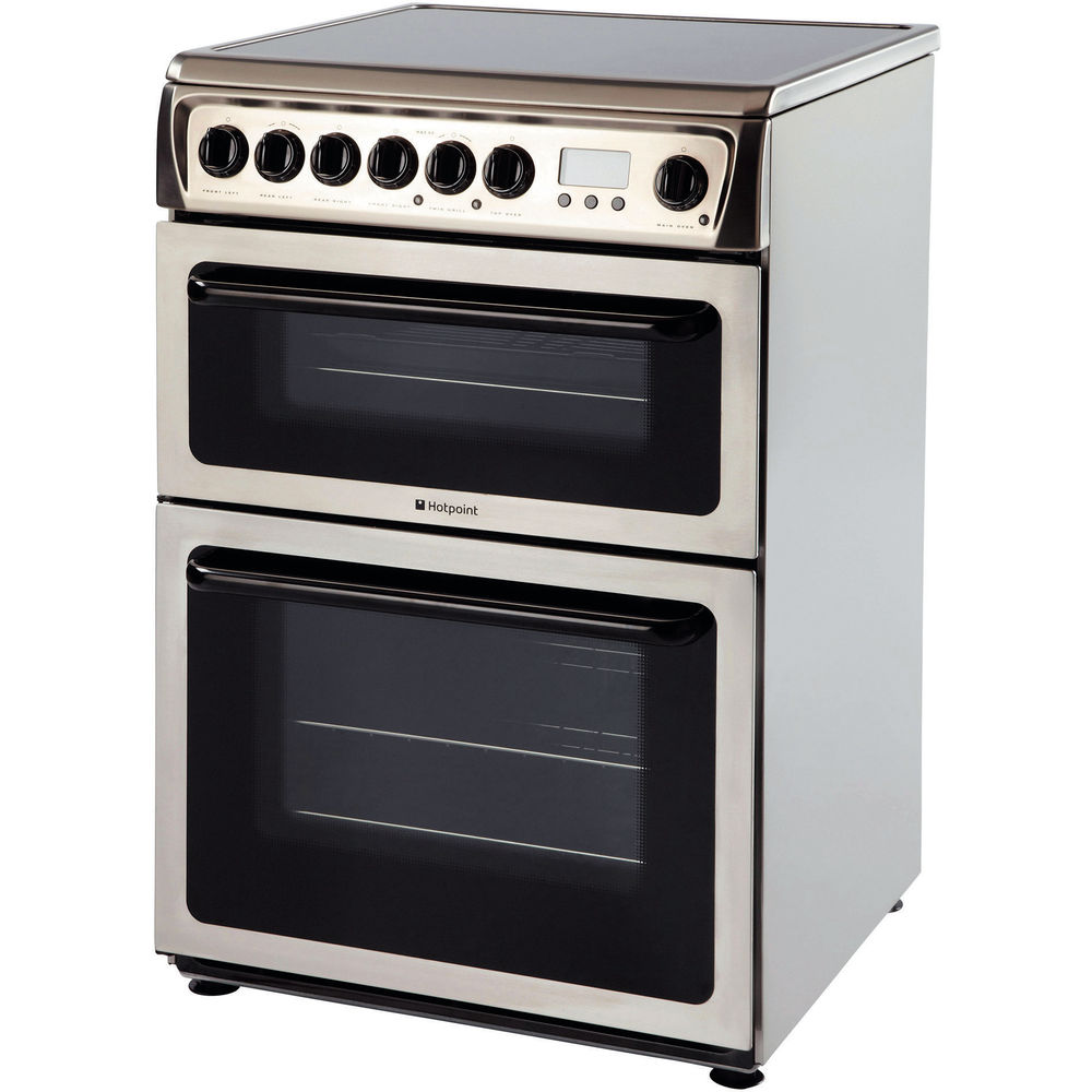 Hotpoint HAE60X S Double Cooker - Inox
