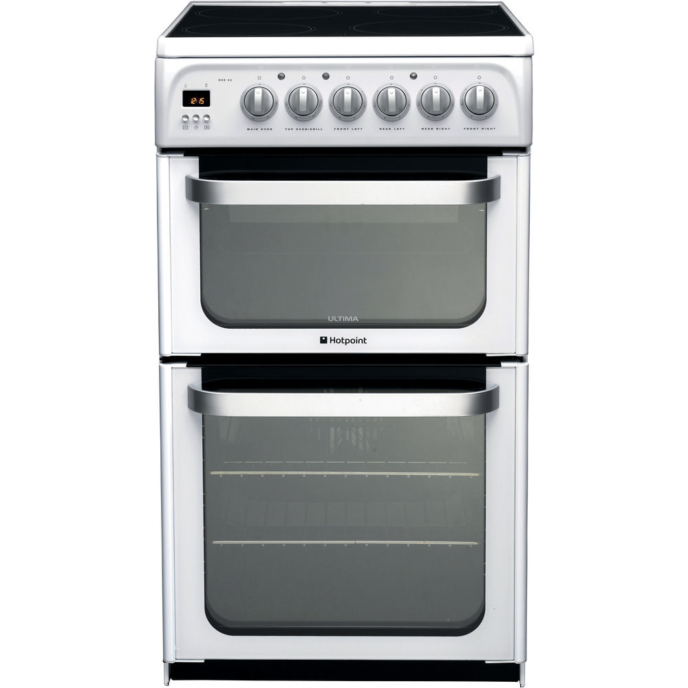 Hotpoint Ultima HUE52P S Cooker - White