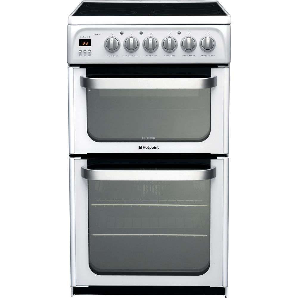 Hotpoint Ultima HUE53P S Cooker - White
