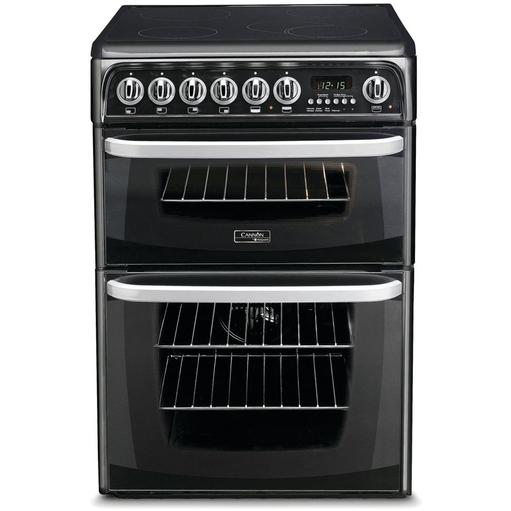 Hotpoint electric freestanding double cooker: 60cm