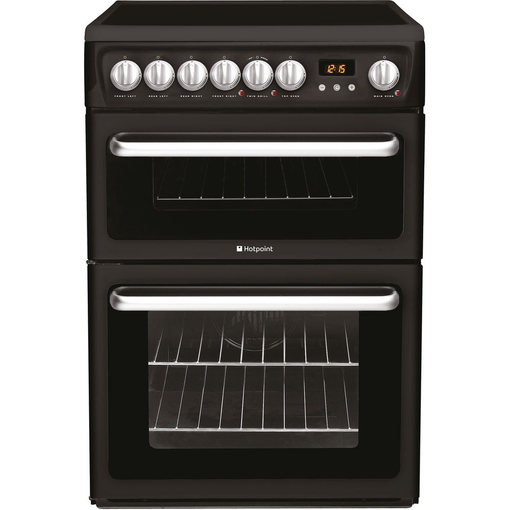 Hotpoint Newstyle HARE60K Cooker - Black