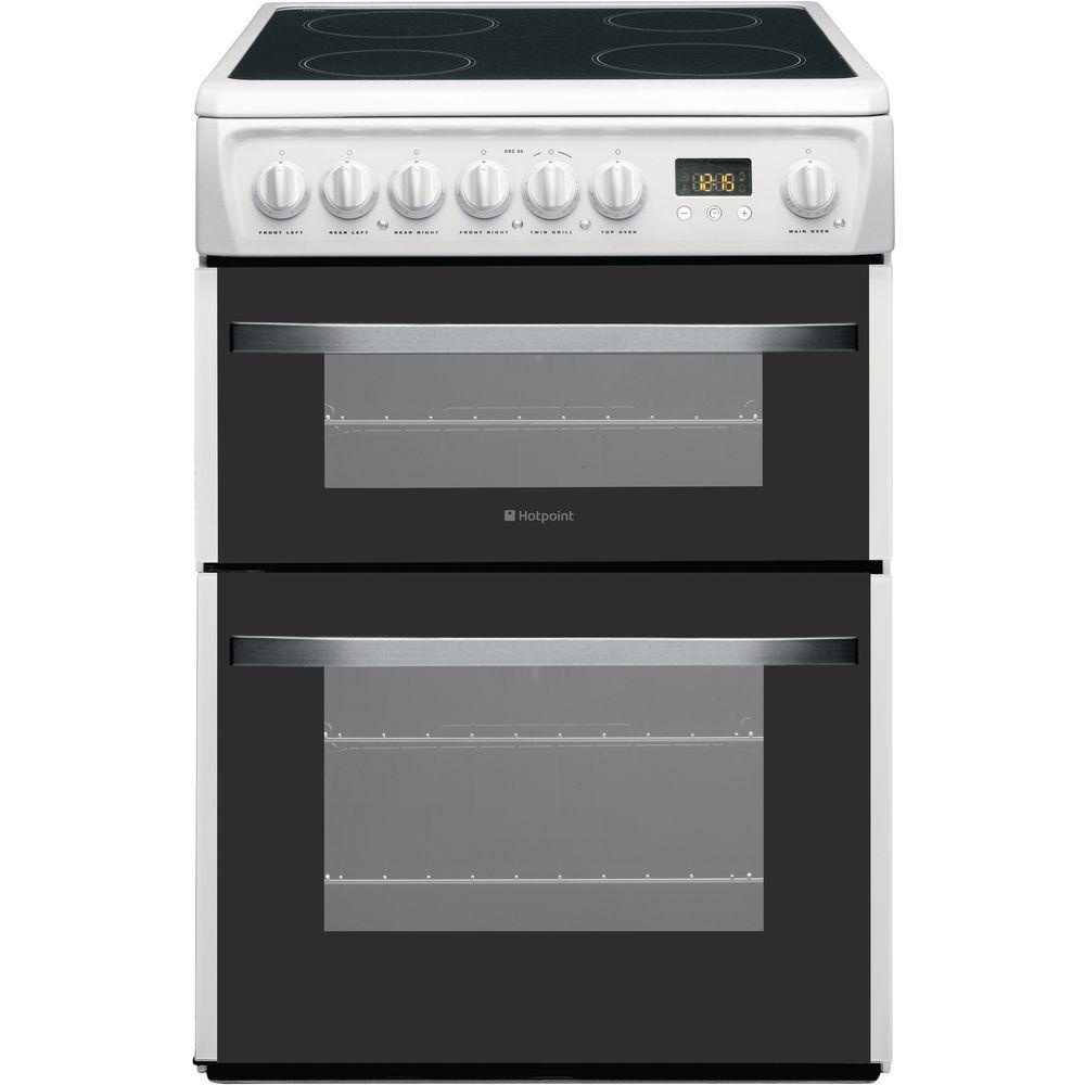 Hotpoint Smart DSC60P Cooker - White
