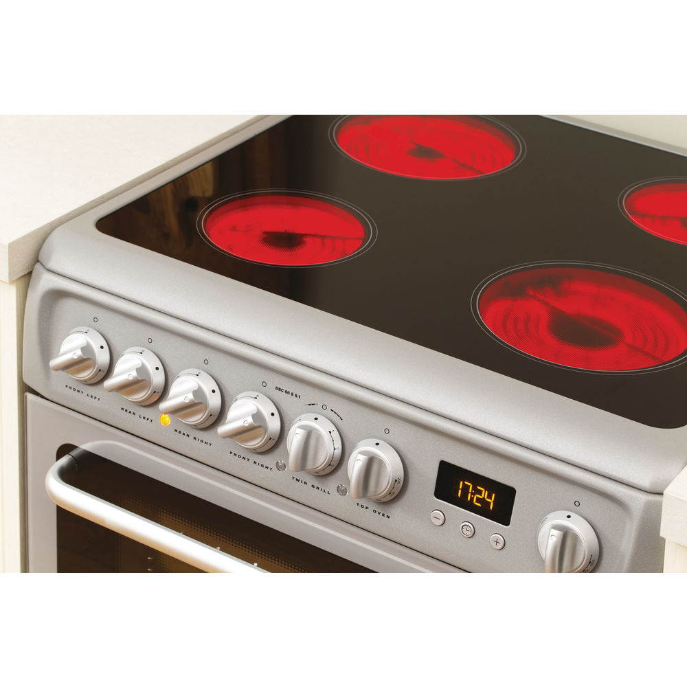 Hotpoint Newstyle DSC60S S.1 Cooker - Silver