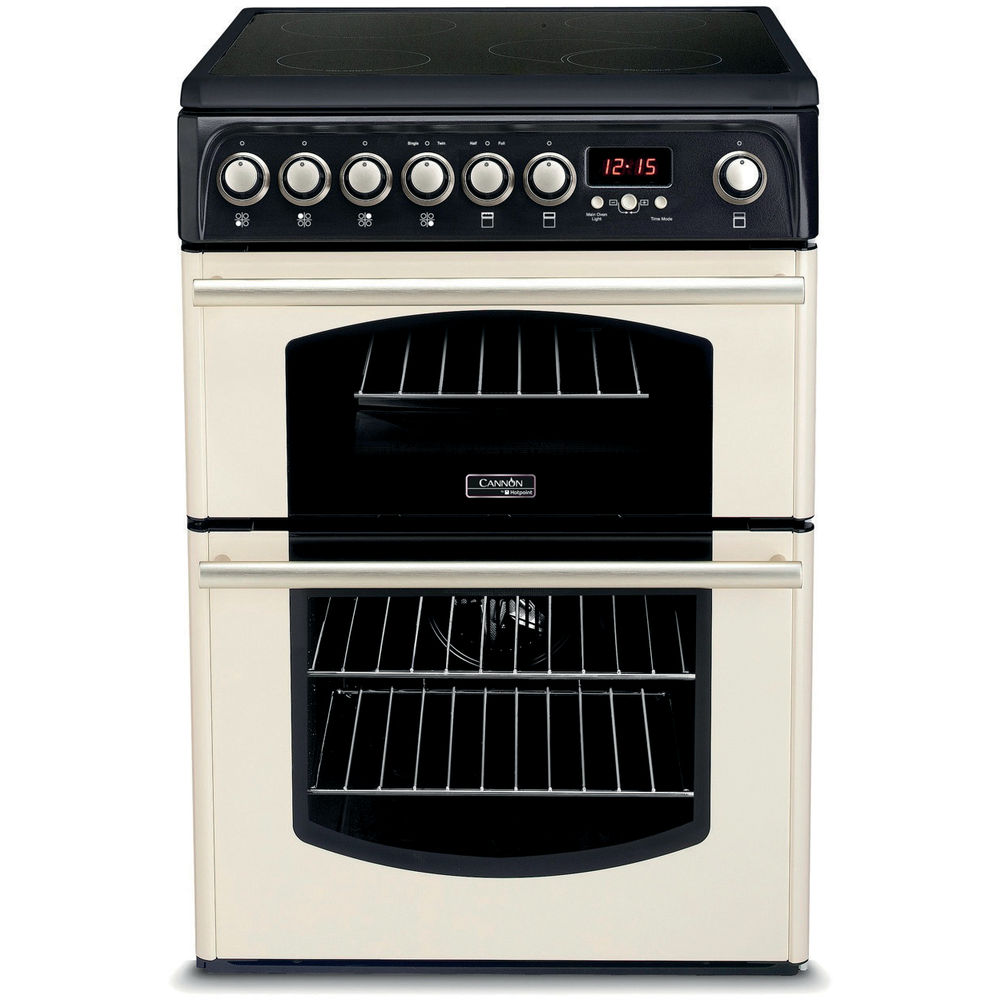 Hotpoint Cannon CH60ETC.0 S Cooker - Cream