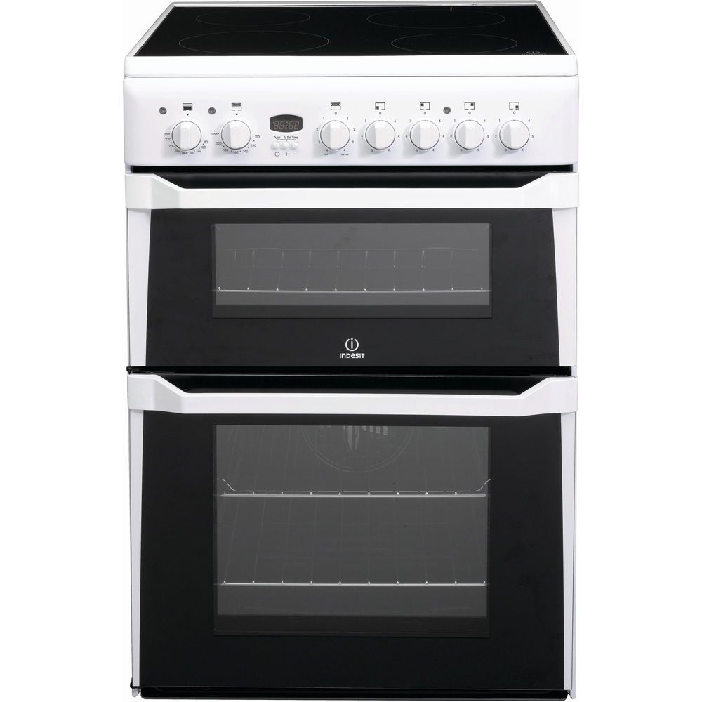 Indesit ID60C2(W) S Cooker in White