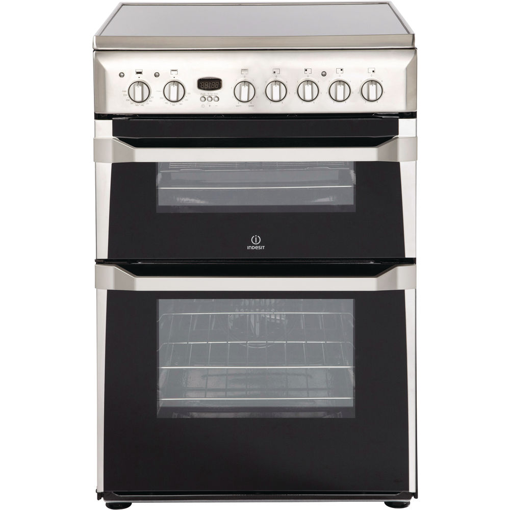 Electric freestanding double cooker: 60cm
