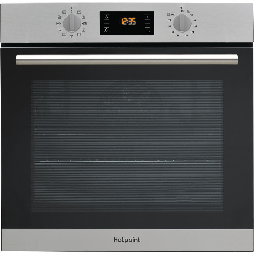 stainless ix frontal toaster inox cooking steel class built cleaning p hotpoint in self h ovens electric oven