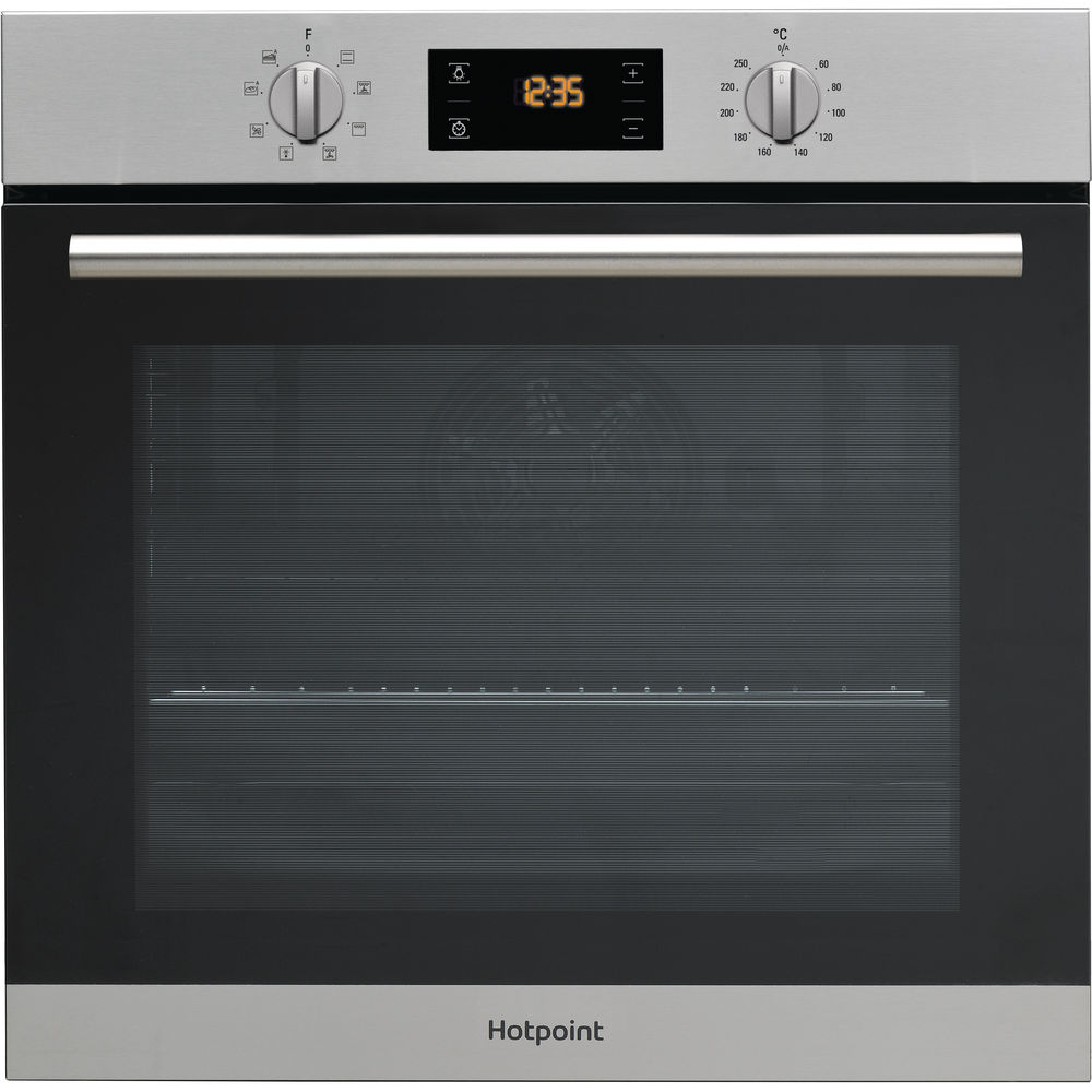 Hotpoint built in electric oven: inox color