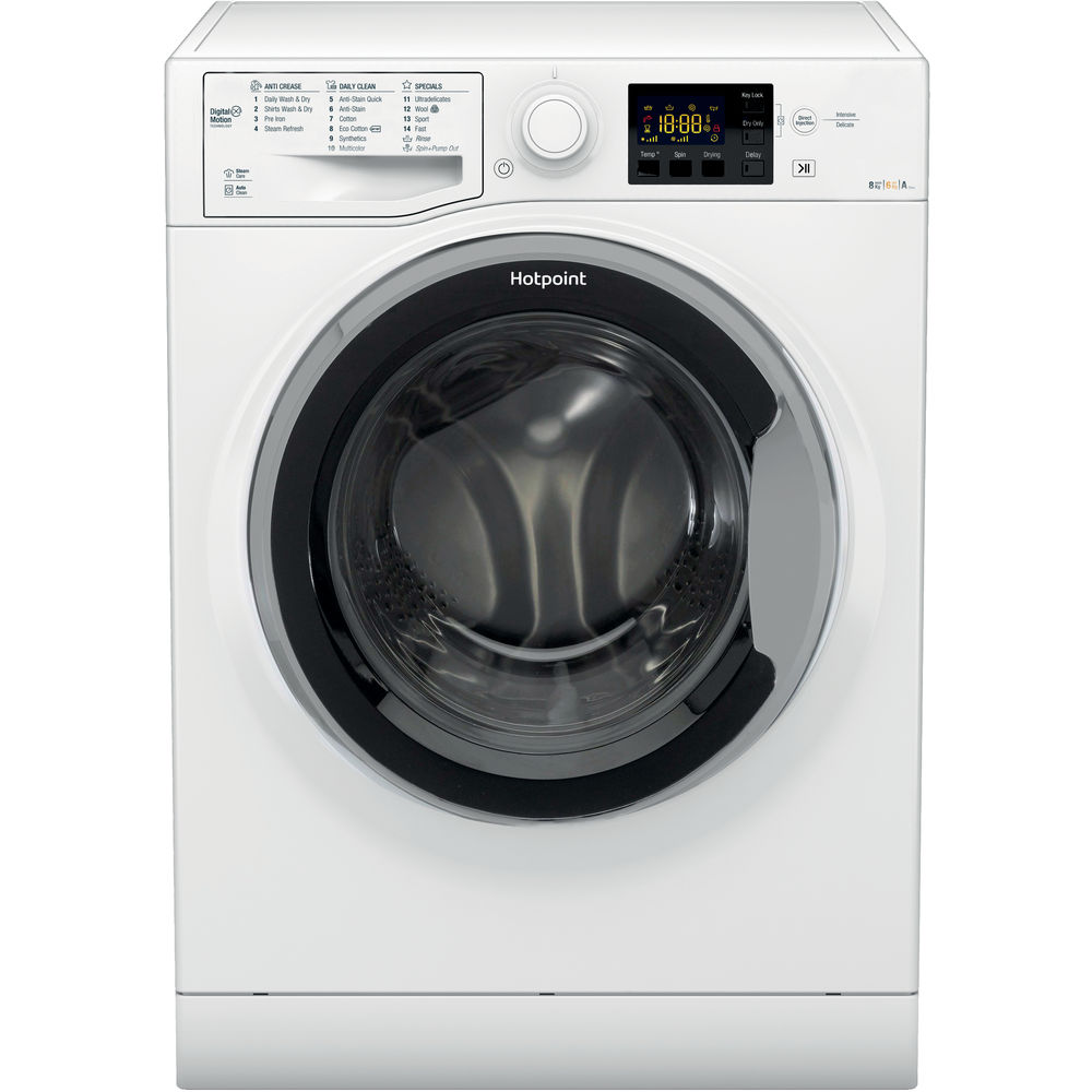Hotpoint Ultima S-Line RG 864 S Washer Dryer - White