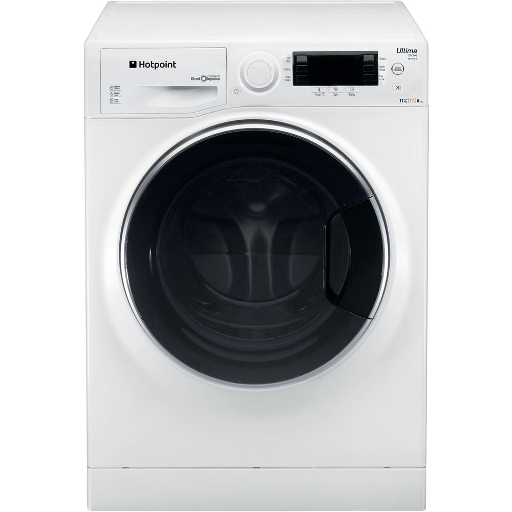 Hotpoint Ultima S-Line RD 1176 JD Washer Dryer - White