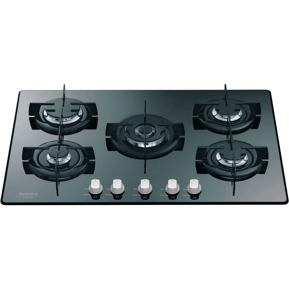 5 fuochi: Piano cottura a gas Hotpoint - DD 752 W/HA(MR) | Hotpoint IT