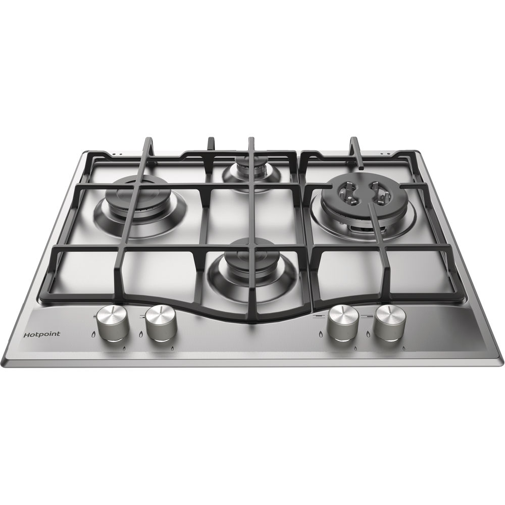 Hotpoint PCN 641 TIXH Gas Hob - Stainless Steel
