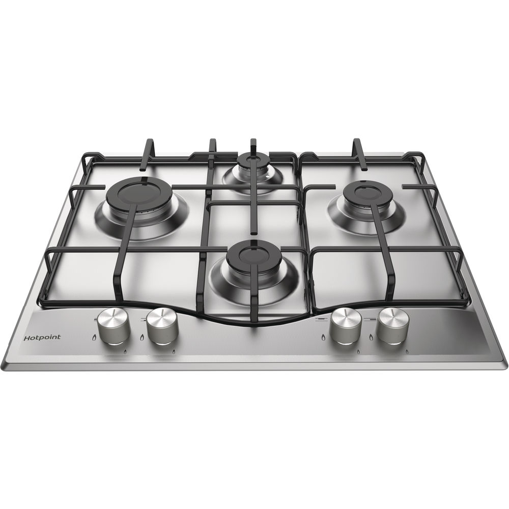 Hotpoint Newstyle PCN 642 IXH Gas Hob - Stainless Steel
