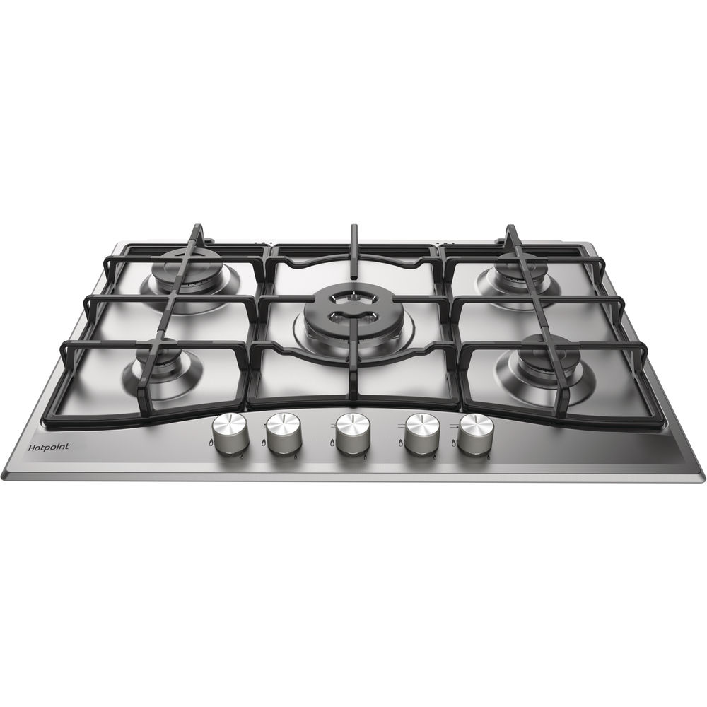 Hotpoint PCN 751 T/IX/H Gas Hob - Stainless Steel