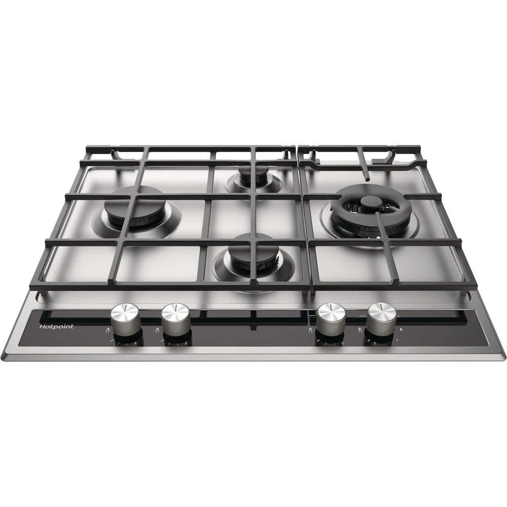 Hotpoint PKLL 641 D2IXH Gas Hob - Stainless Steel
