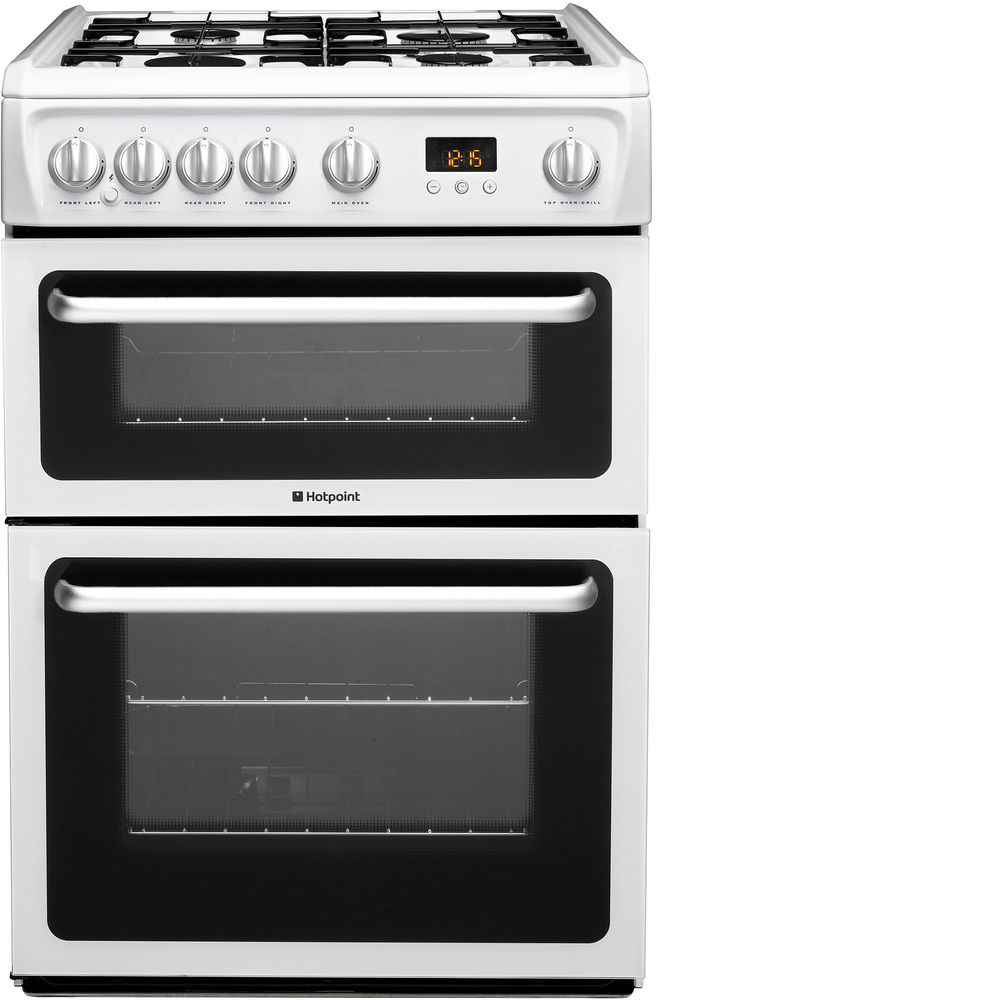 Hotpoint Newstyle HARG60P Cooker - White